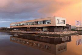Nieuwbouw kantoorpand Sealteq Stadskanaal