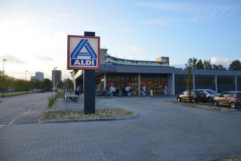 Metselwerk Aldi Stadskanaal